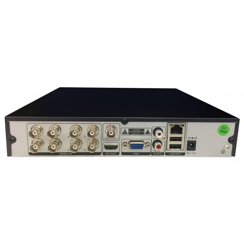 8 Channel 1080n Sgseye Ahd Hybrid Dvr Recorder Degree